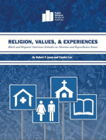 Religion, Values, and Experiences