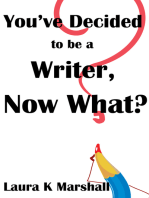 You've Decided to be a Writer, Now What?