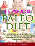 The Wonder of Paleo Diet