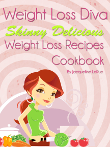 Weight Loss Diva Skinny Delicious Weight Loss Recipes Cookbook