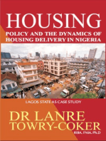 Housing Policy and the Dynamics of Housing Delivery in Nigeria