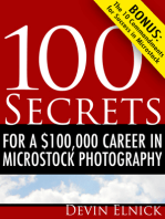 100 Secrets for a $100,000 Career in Microstock Photography