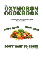 The Oxymoron Cookbook