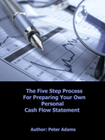 DIY Personal Cash Flow Statement