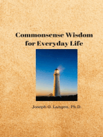 Commonsense Wisdom for Everyday Life