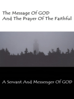 The Message Of GOD And The Prayer Of The Faithful
