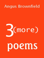 3 (more) Poems