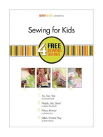 Sewing for Kids: 4 Sewing Guides