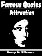 Famous Quotes on Attraction