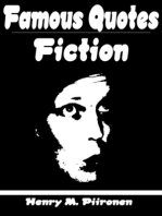Famous Quotes on Fiction