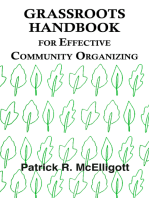 Grassroots Handbook for Effective Community Organizing