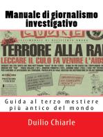Manuale di Giornalismo Investigativo