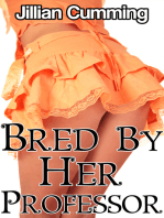 Bred by Her Professor (Taboo Breeding Impregnation Erotica)