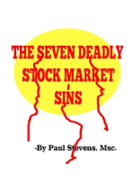 The 7 Deadly Stock Market Sins