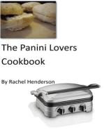 The Panini Lovers Cookbook