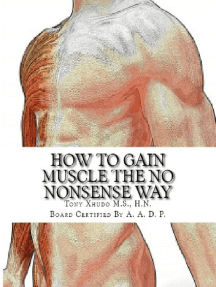 How to Build Muscle the No Nonsense Way