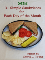31 Simple Sandwiches for Each Day of the Month