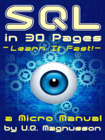 SQL in 30 Pages