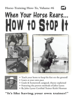 When Your Horse Rears