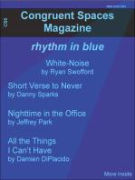 Congruent Spaces Magazine, Issue 5