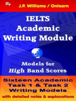 IELTS Academic Writing Module