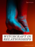 Witchcraft In Relationships (sermon)