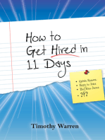 How to Get Hired in 11 Days
