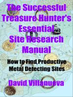 The Successful Treasure Hunter's Essential Site Research Manual