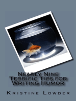 Nearly Nine Terrific Tips for Writing Humor