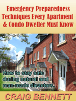 Emergency Preparedness Techniques Every Apartment & Condo Dweller Must Know