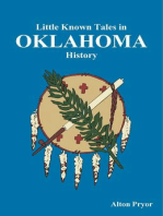 Little Known Tales in Oklahoma History