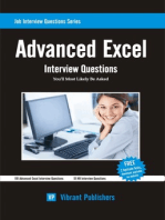 Advanced Excel Interview Questions You'll Most Likely Be Asked