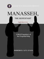 Manasseh, the Repentant