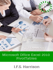 Microsoft Office Excel 2010 Pivot Tables