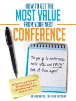 How To Get the Most Value From Your Next Conference