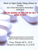 How to Spot Early Drug Abuse in Teens