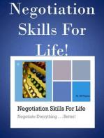 Negotiation Skills For Life