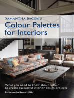 Samantha Bacon's Colour Palettes for Interiors