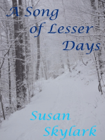A Song of Lesser Days
