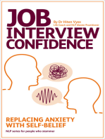 Job Interview Confidence - Replacing Anxiety with Self-Belief (NLP series for people who stammer)