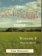 Songs and Devotions of David, Volume III