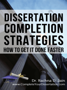 Dissertation Completion Strategies