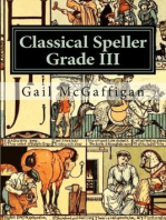 The Classical Speller III, Student Edition