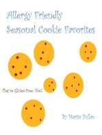 Allergy Friendly Seasonal Cookie Favorites