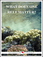 What Does One Reef Matter?