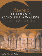 Islamic Theology, Constitutionalism, and the State