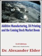 Additive Manufacturing, 3D Printing, and the Coming Stock Market Boom