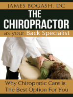 The Chiropractor as Your Back Pain Specialist