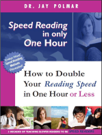 Speed Reading In Only One Hour (or Less)