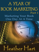 A Year of Book Marketing Part 1